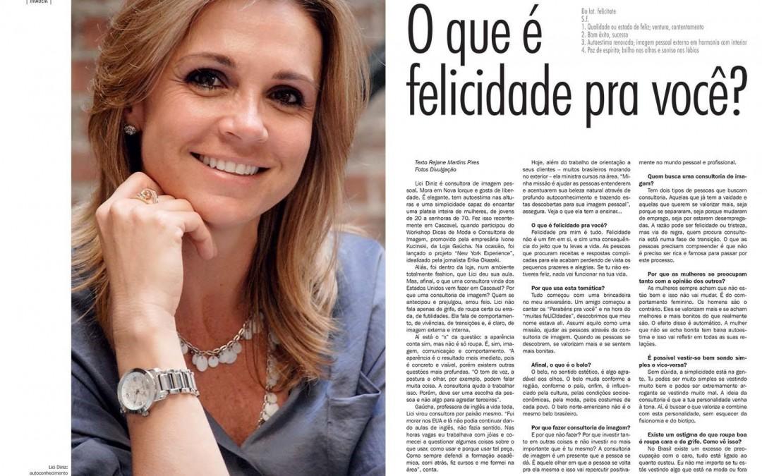 Entrevista Revista Aldeia