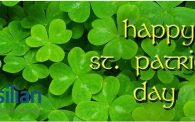 Feliz dia de St. Patrick!